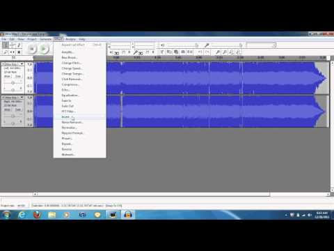 How to Remove Voice From MP3 Using Audacity