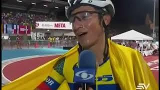 Jorge Bolaños Obtiene Medalla De Oro Para Ecuador En Juegos Bolivarianos