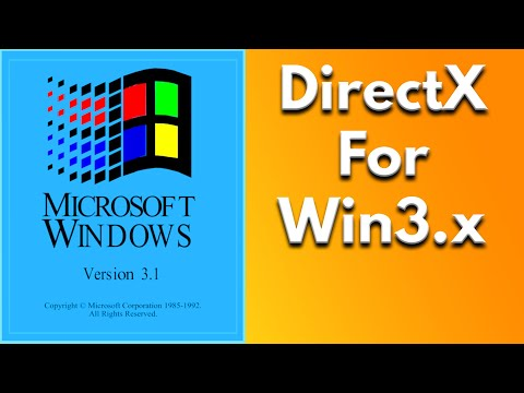 Let's Install WinG - DirectX like software for Windows 3.1