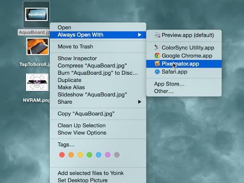 Mac Tip: How to make files always open in certain apps