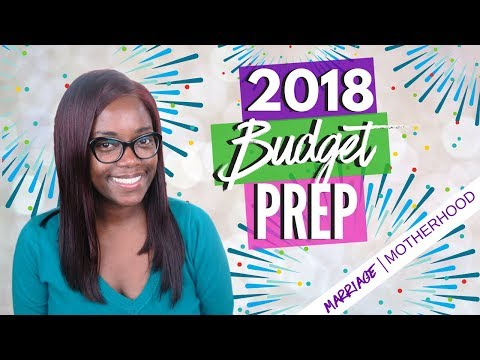 How to Prep your Budget for 2018 | Debt Free Friday
