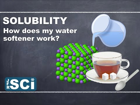 Solubility and Reactions in Solution: How does my water softener work?