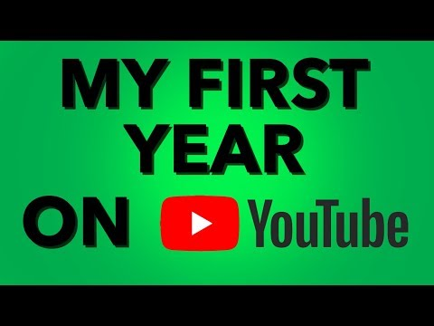 My First Year on YouTube-Has it Really Been That Long?