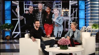 Adam Levine Gripes About Blake Shelton and Gwen Stefani