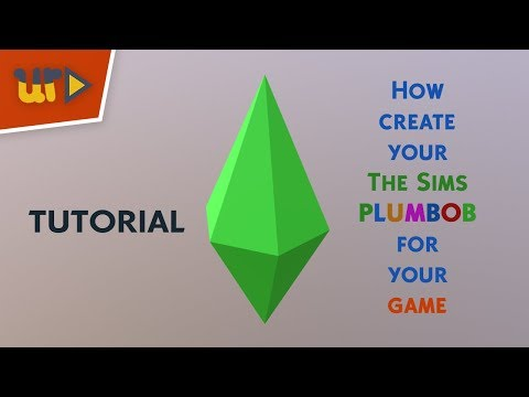How create your The Sims Plumbob - Blender Tutorial