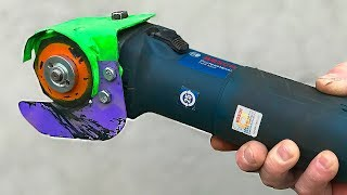 VERY USEFUL DEVICE FROM ANGLE GRINDER / 2019 / Rough Hands and Unusual Ideas