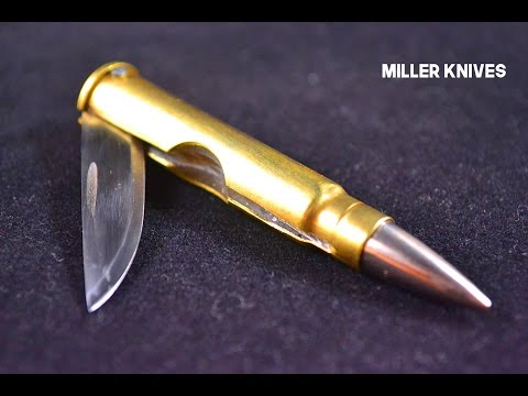 Making a Folding Bullet Knife