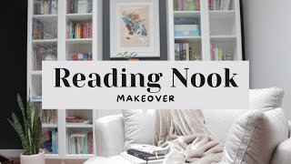 Reading Nook Makeover » How to create a cosy home library | Life of Kotts