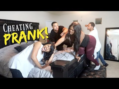 CAUGHT CHEATING IN THE BED WITH HER BEST FRIEND PRANK!!! MING SNAPPED!! (GONE VERY VIOLENT)