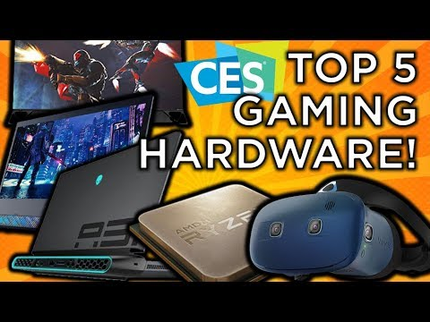Top 5 PC Hardware At CES 2019!