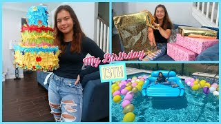 Celebrating my Birthday in a special way / Opening my presents ... | SISTER FOREVER