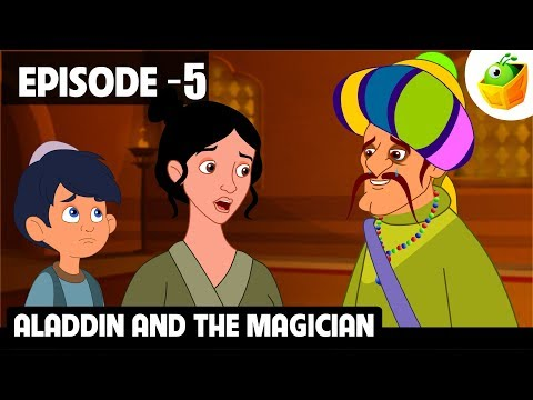 Aladdin and the Magician | Episode 5 | Arabian Nights | Magicbox English Kids Stories