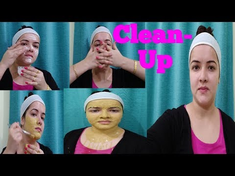Weekly Clean-up at home. #Glowing skin#Natural#Winter #SADAF Clean-up