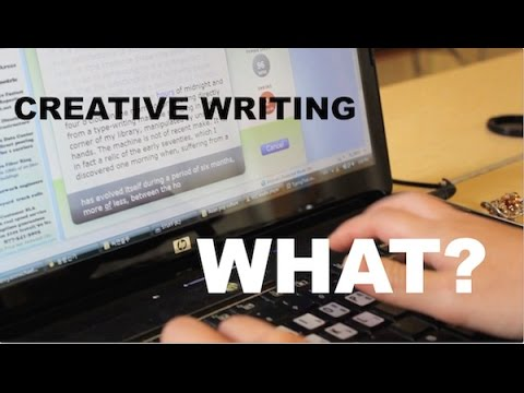 HOW NOT TO: Major in Creative Writing