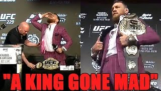 """UFC 229 Press Conference Reaction - """"A King Gone Mad"""""""