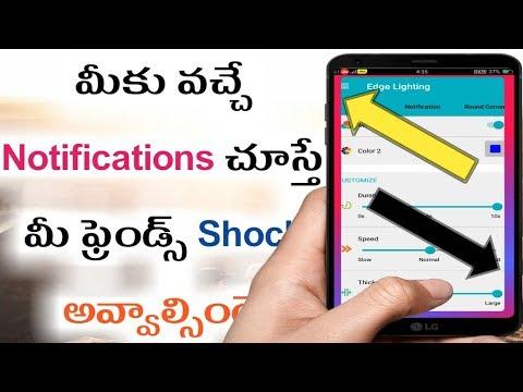 Notification designer App in telugu | kiran youtube world