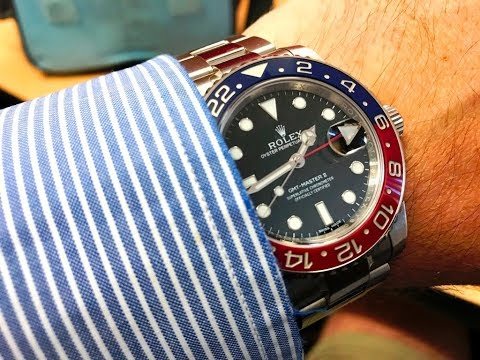 PAID WATCH REVIEWS - Investment potential of the White Gold Rolex GMT Pepsi 116719