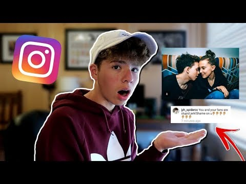 REACTING TO Millie Bobby Brown's Instagram COMMENTS... (Bad Idea)