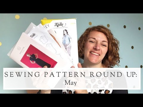 New Sewing Pattern Releases || May 2018 || The Fold Line