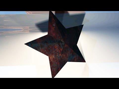 Maya 2016 tutorial : How to model a Texas barn star