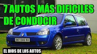 7 AUTOS MÁS DIFÍCILES DE CONDUCIR
