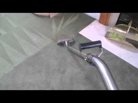 Steam Carpet Cleaning Fireplace Soot Damage Pt. 1