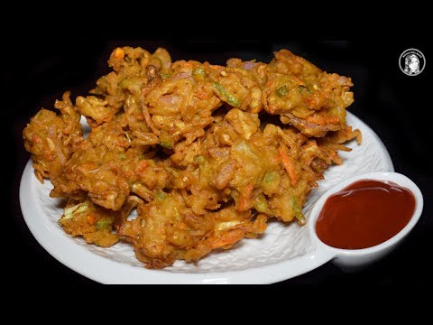 Noodles Pakora Recipe - Quick & Easy Maggi Pakoda Crispy Noodles Pakora - Special Ramadan Recipe
