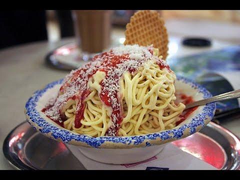 Spaghetti Ice Cream Machine NEW  Australian Slush Machines 2016