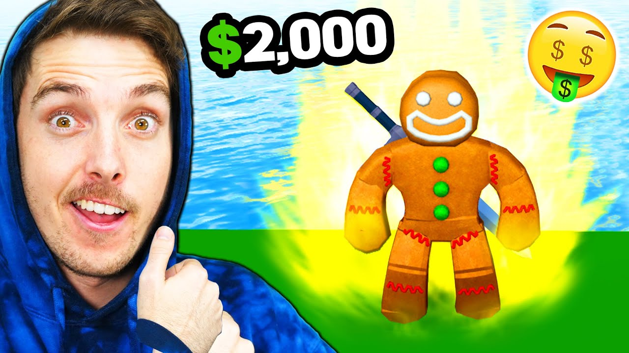 I spent $2,000 to become a ROBLOX GOD
