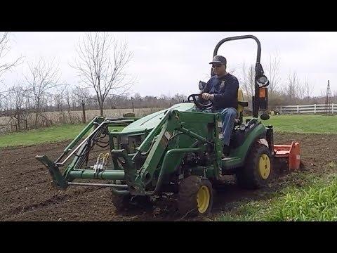 To Till or Not To Till, Garden Tilling with John Deere 1025R