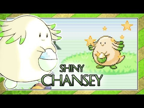 [Safari Week] EPIC LIVE Shiny 4% Chansey *CAUGHT* in Leafgreen after 4,099 REs [500 Sub Special]