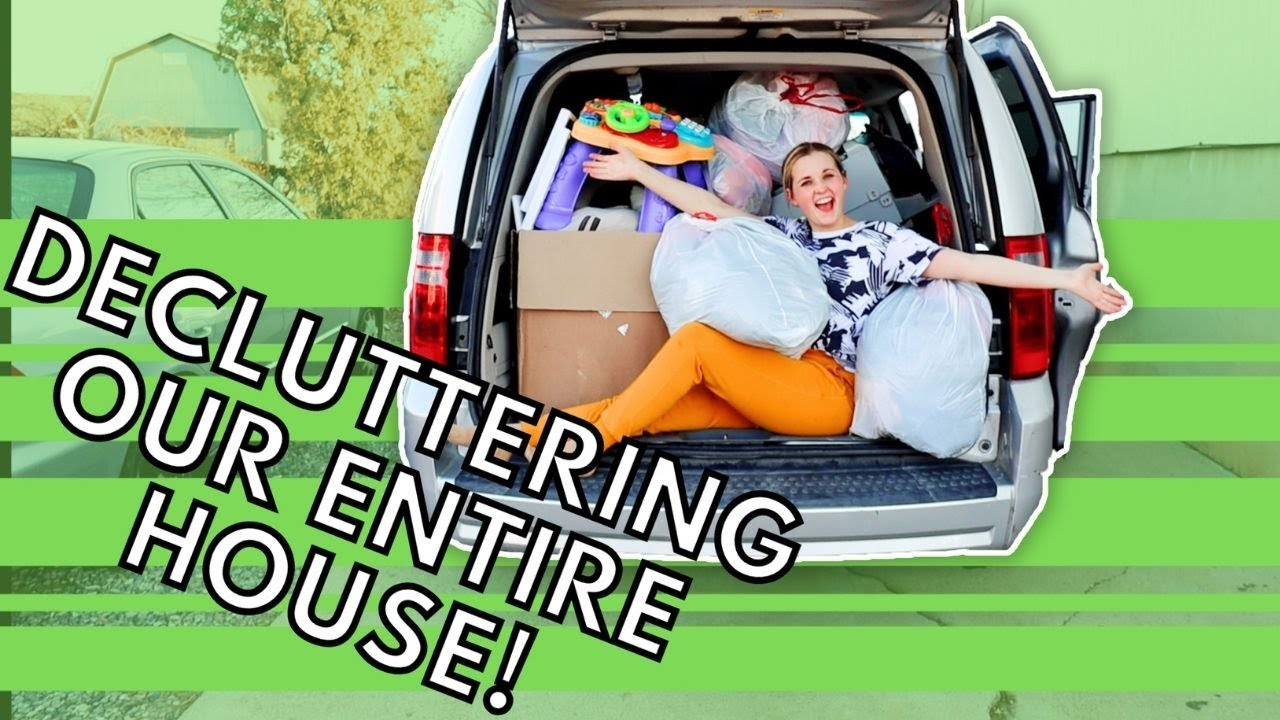 EXTREME Whole House Declutter | Prepping to Move! | CLEAN + MINIMIZE + DECLUTTER WITH ME 2021