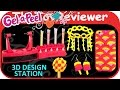 Gel-a-Peel 3D Design Station Craft Kit 4 Colors Neon Glitter Unboxing Toy Review by TheToyReviewer