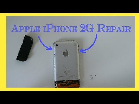 Apple iPhone 2G volume button, headphone jack and power button repair