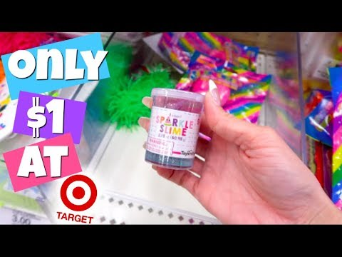 $1 SLIME + SQUISHIES AT TARGET! NEW!!