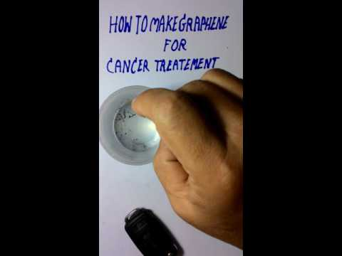 How to make graphene for cancer treatment?