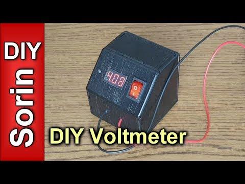 DIY Voltmeter (Cheap & Easy) 0 - 30V DC