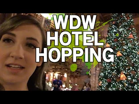 Walt Disney World Hotel Hopping - Grand Floridian and Wilderness Lodge