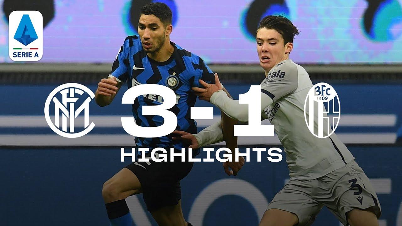 INTER 3-1 BOLOGNA | HIGHLIGHTS | SERIE A 20/21 | Hakimi and Lukaku on fire! 🔥⚫🔵