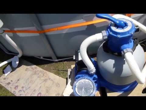 Intex pool wall skimmer install