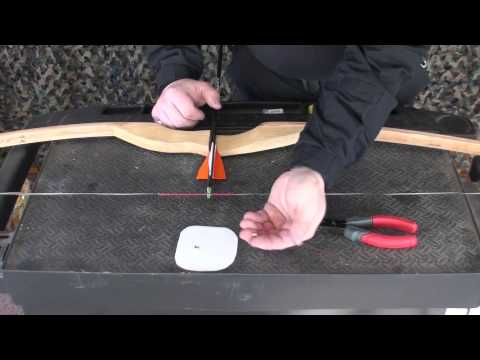 Nock Setting A Primitive Bow and Arrow