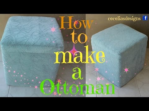 How to make a ottoman