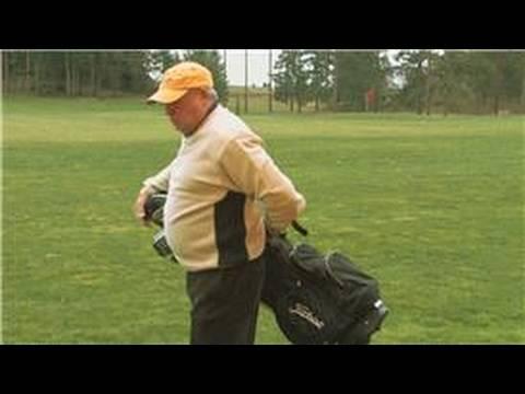 Golf Equipment : How to Carry a Golf Bag