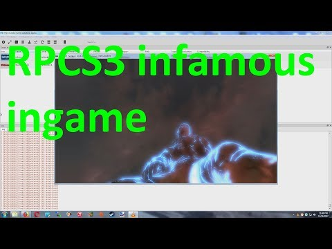 RPCS3 PS3 Emulator infamous ingame low fps