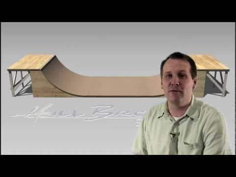 4' Mini Halfpipe: How much does it cost to build?  Plans from easyhalfpipe.com