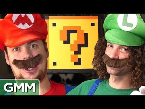 Super Mario Smash Block Challenge ft. Game Grumps