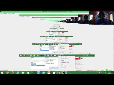 how to download open broad cast obs windows 8 os step by step