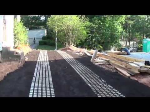 Inspired Installation of Drivable Grass Pavers/ Mats/ Permeable