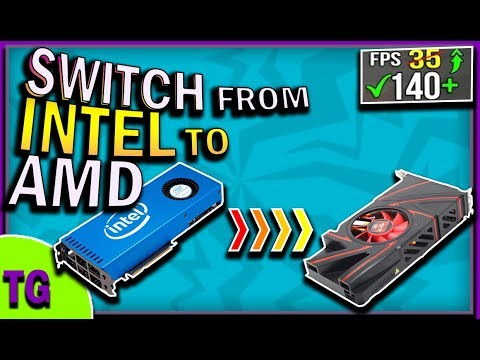 How To switch From Intel HD Graphics Card To AMD Radeon 2018 ✅