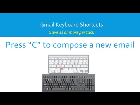 Gmail Keyboard Shortcuts: How to compose an email using key